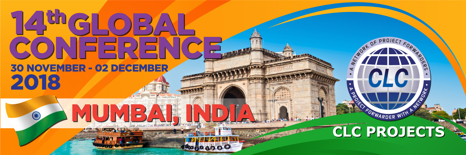Mumbai Conference – 30th November – 2nd December 2018