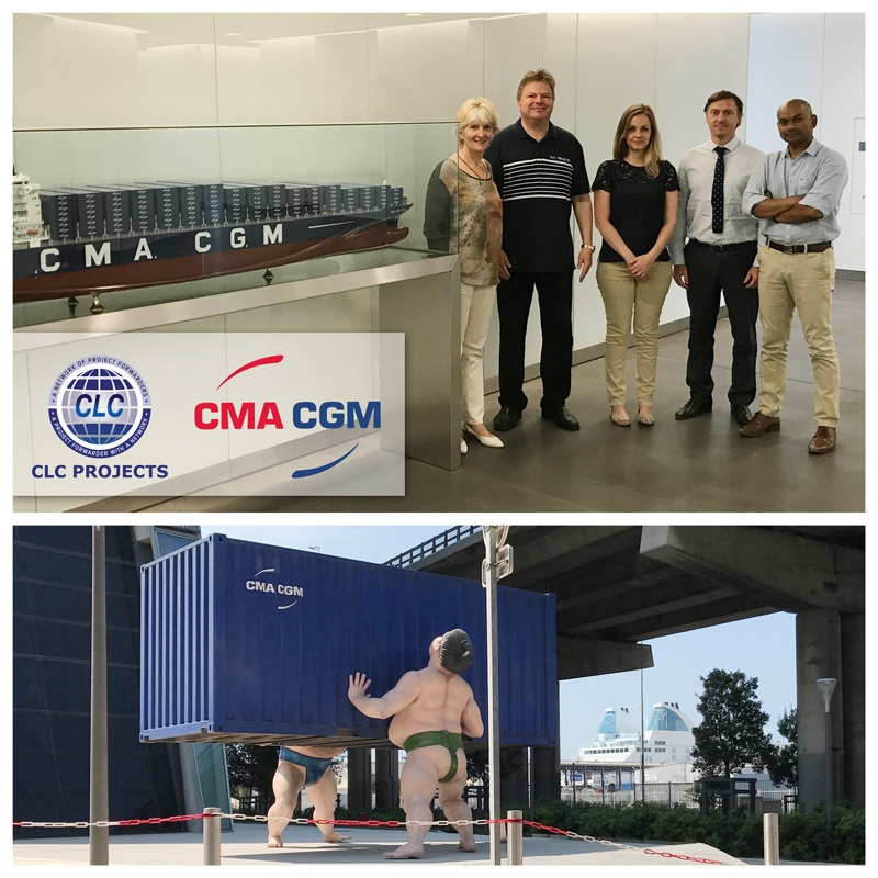 Clc projects chairman met with the head of cma cgm s project cargo division clc projects - Cma cgm france head office ...