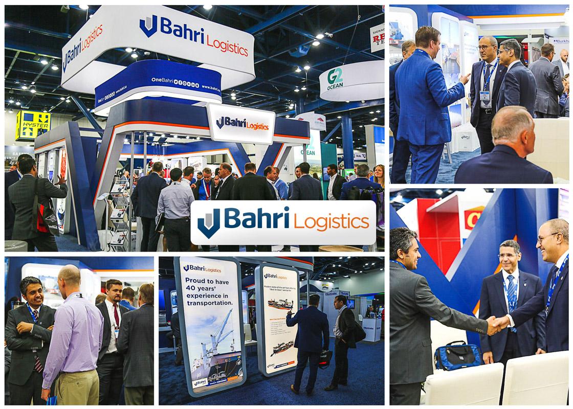 Bahri highlights growing presence in U.S. at Breakbulk Americas 2018