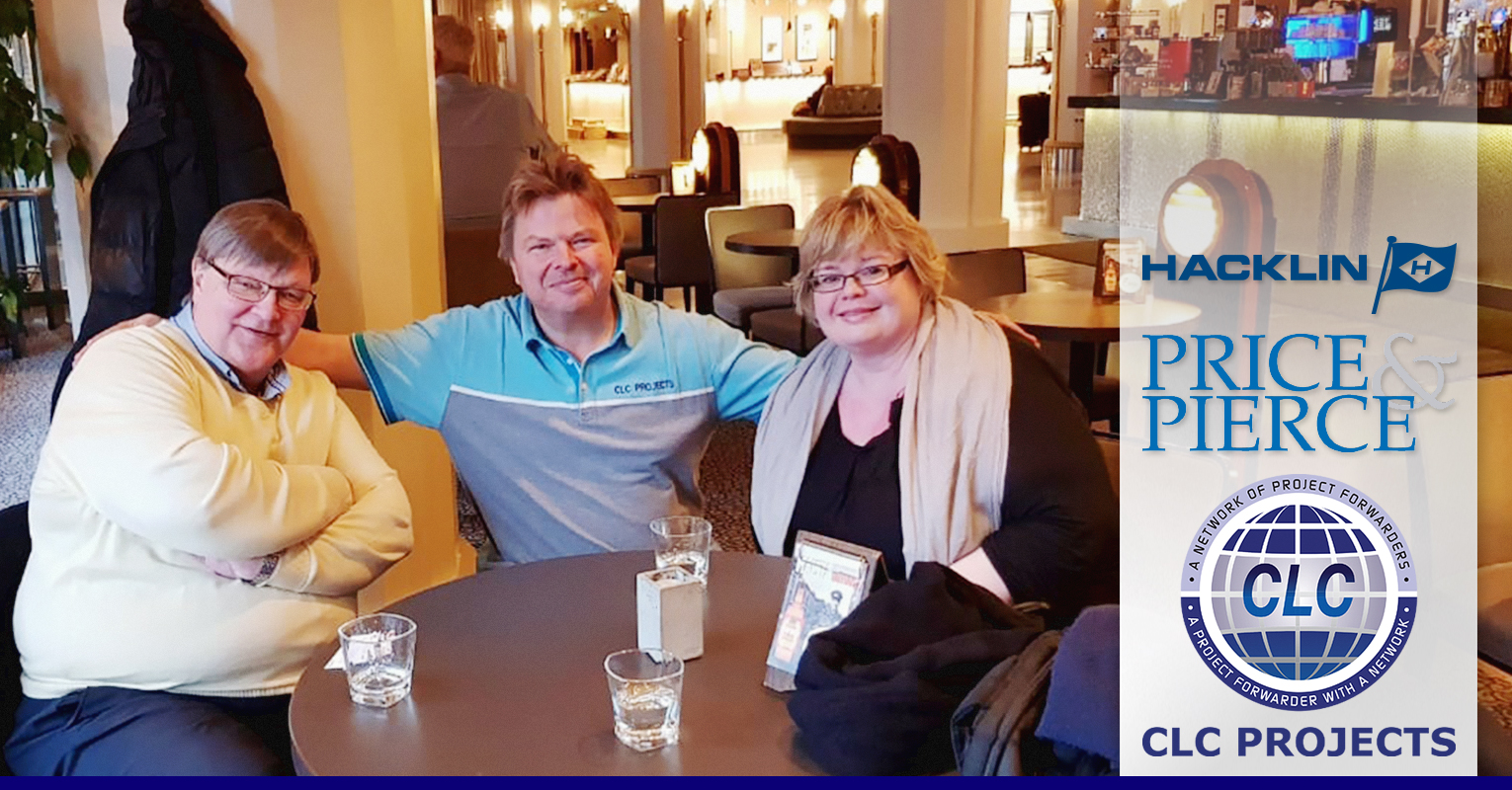 CLC Projects met with Hacklin Logistics and  Price & Pierce in Helsinki