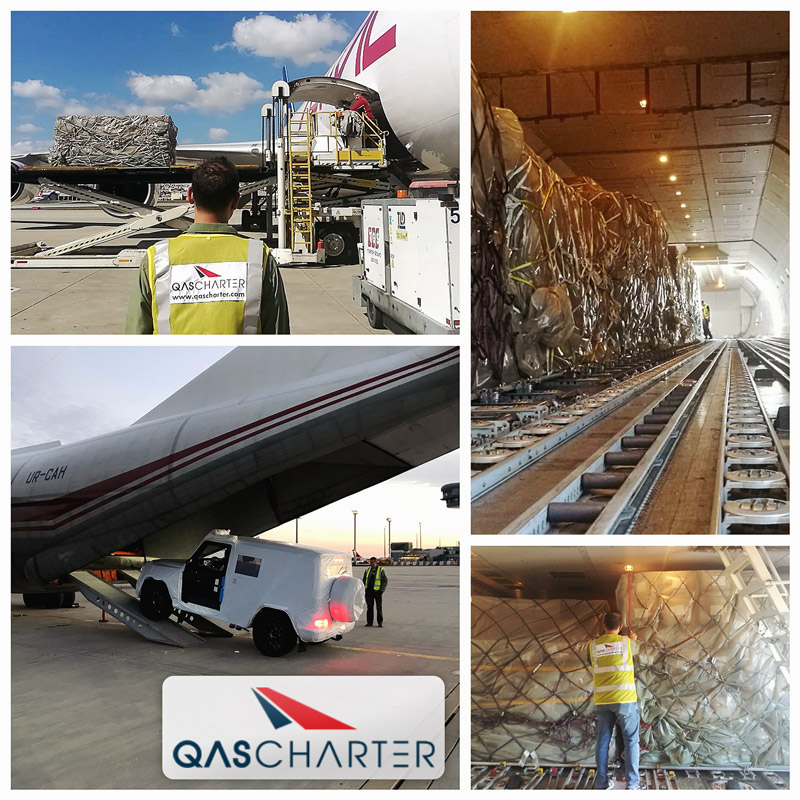 Two critical air charters handled by QAS Charter