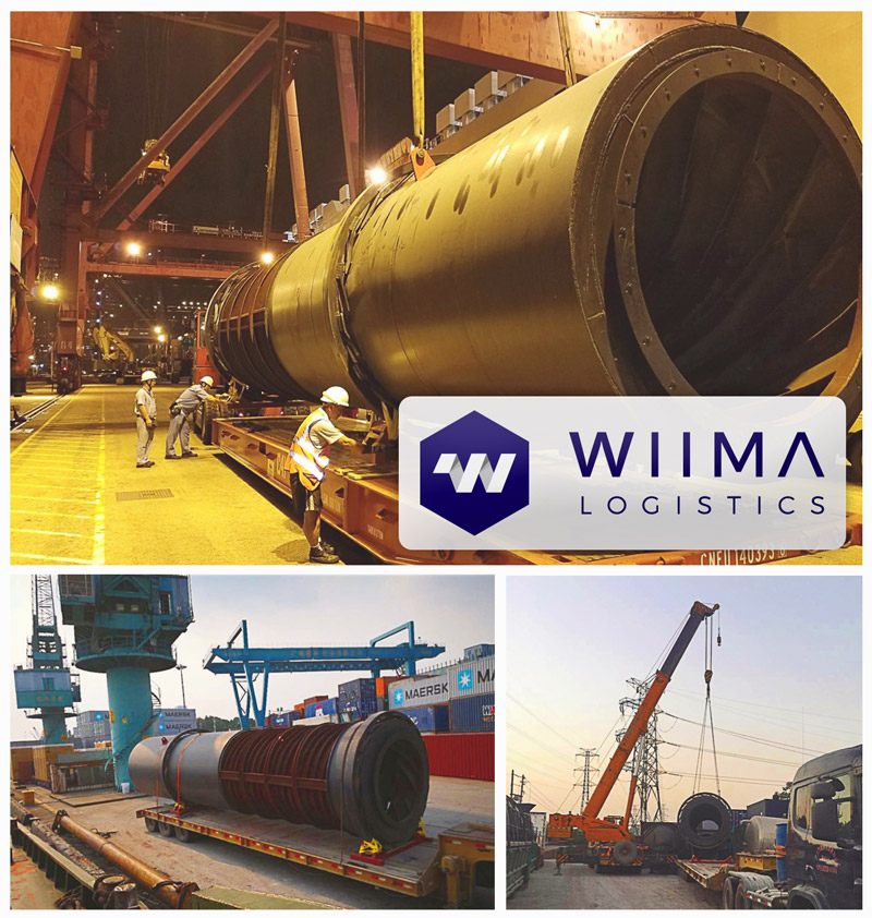 Wiima moved oversized cargo from China to Finland
